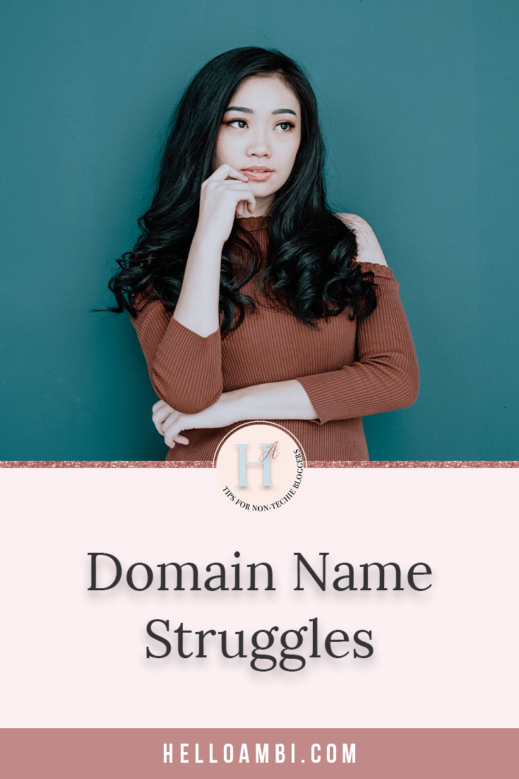 Domain Name Struggles